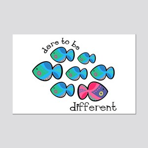 Dare To Be Different Mini Poster Print